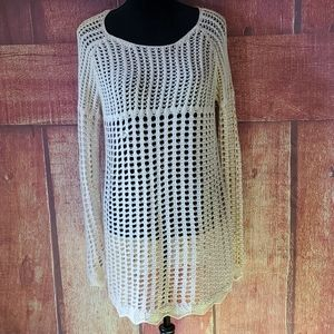 Crystal Kobe crocheted cover up or dress